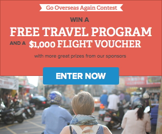 Go Overseas Again Contest